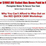 Zack Childress Life Changing prizes You Could Win at REI Quick Cash Workshop