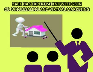 Zack has Expertise Knowledge In Co-wholesaling and Virtual Marketing